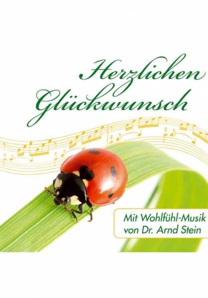 CD Herzlichen Glückwunsch von Dr. Arnd Stein