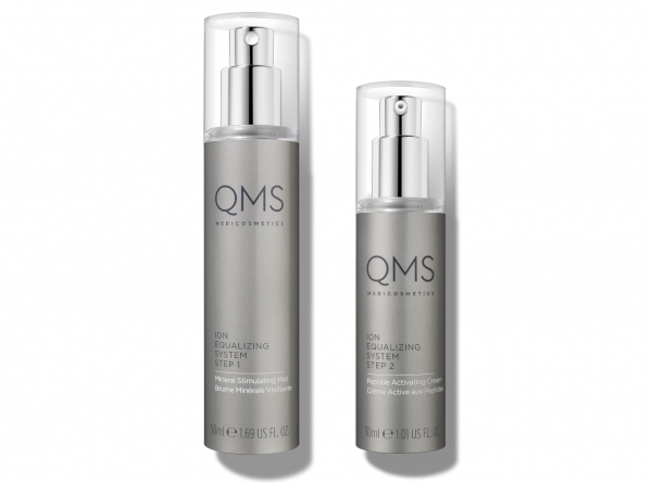 QMS MEDICOSMETICS ADVANCED ION EQUALIZING SYSTEM 2-STEP Night Routine - nächtliches Anti-Aging