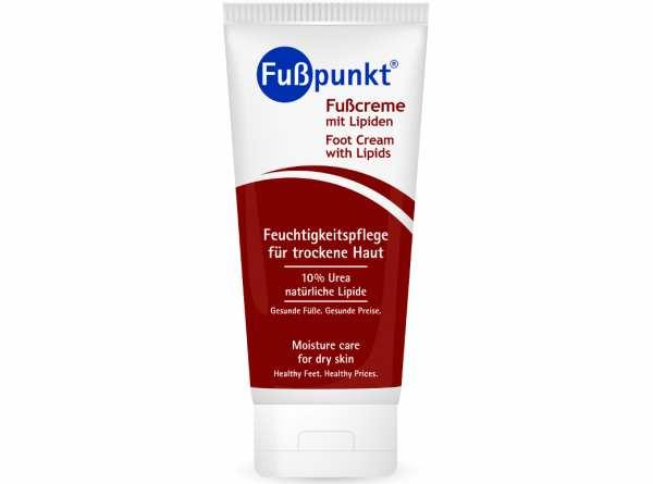 Fußcreme mit Lipiden FEUCHTIGKEITSPFLEGE 150 ml von Fußpunkt®