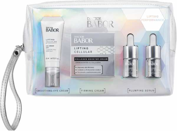 DOCTOR BABOR Lifting Set 2020 (Collagen Boost Infusion 2x7ml, Collagen Booster Cream 50ml, Eye Cream