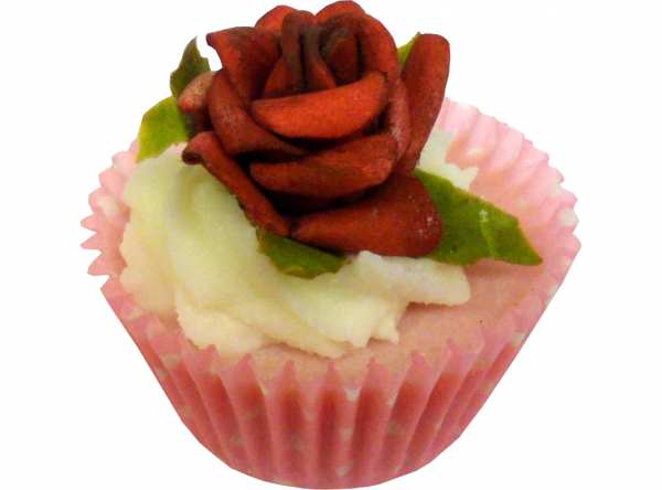 BadePralinen COLOUR BOUQUET Rote Rose von BadeFee