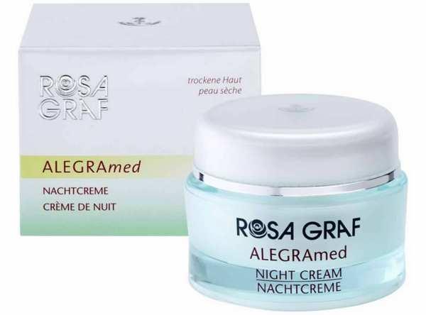 Hochkonzentrierte Nachtpflege ALEGRAmed Night von ROSA GRAF
