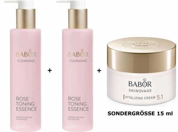 BABOR CLEANSING Rose Toning Essence 2x - Gesichtswasser