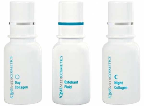 Gesichtspflegesystem 3x 30 ml CLASSIC SET von !QMSMEDICOSMETICS
