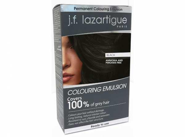 Haarfärbemittel EMULSION COLORANTE Schwarz von j.f. lazartigue