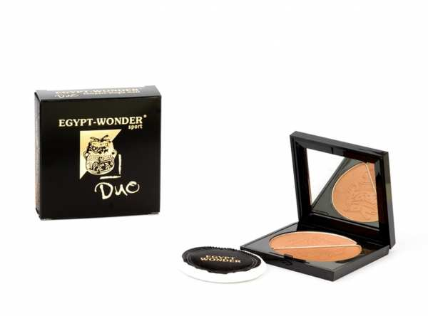 Mineralpuder EGYPT-WONDER® Compact Single Duo von Tana® COSMETICS