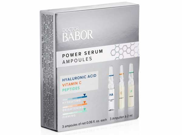 BABOR Power Serum Ampullen 3 Ampullen á 2 ml vegan
