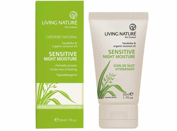 Living Nature Sensitive Nachtcreme