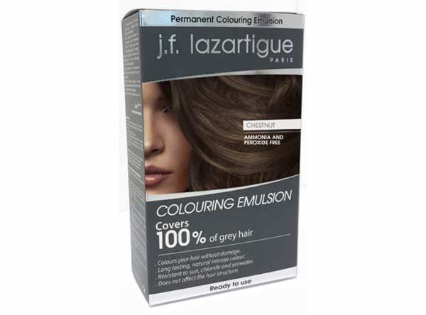Haarfärbemittel EMULSION COLORANTE Kastanie von j.f. lazartigue