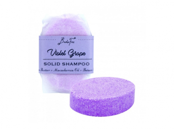 BadeFee Festes Shampoo Violet Grape 50 g