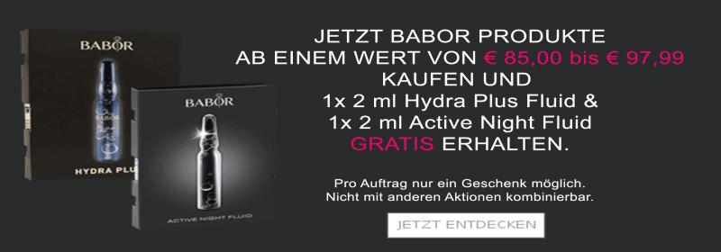 Babor Hydra Plus Fluid +  Active Night Fluid Aktion