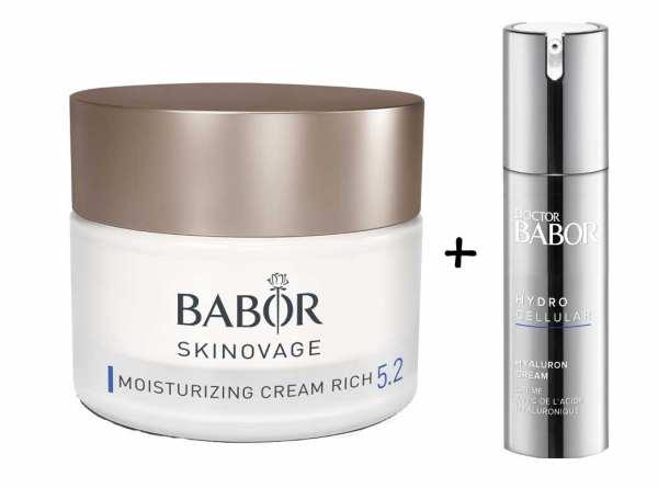 BABOR SKINOVAGE Moisturizing Cream Rich - Gesichtspflegecreme für trockene Haut