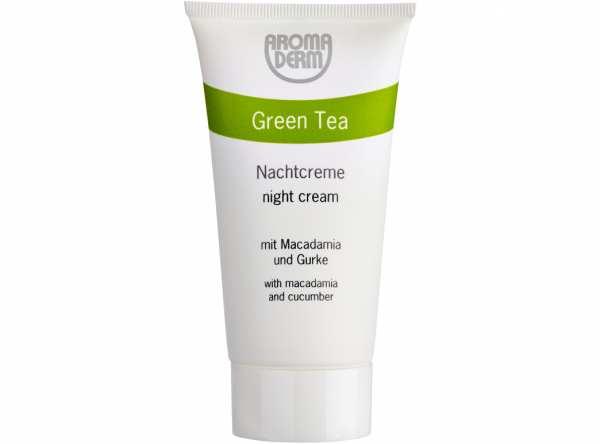 Nachtcreme GREEN TEA von AROMA DERM