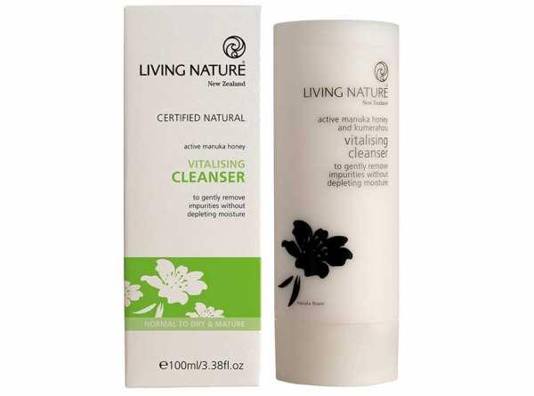 Living Nature Vitalisierende Reinigungsmilch