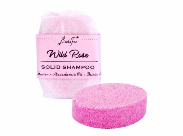 BadeFee Festes Shampoo Wild Rose 50 g