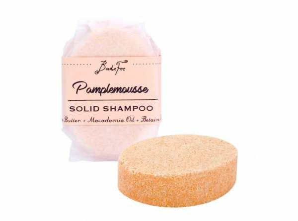 BadeFee Festes Shampoo Pamplemousse 50 g