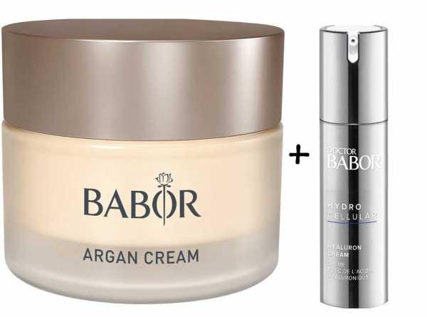 BABOR SKINOVAGE Argan Cream - Reichhaltige 24h Intensiv-Pflege mit Arganöl
