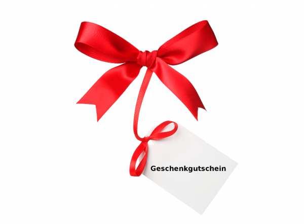 Geschenkgutschein im Wert von 150,00 € – Zustellung per Email -