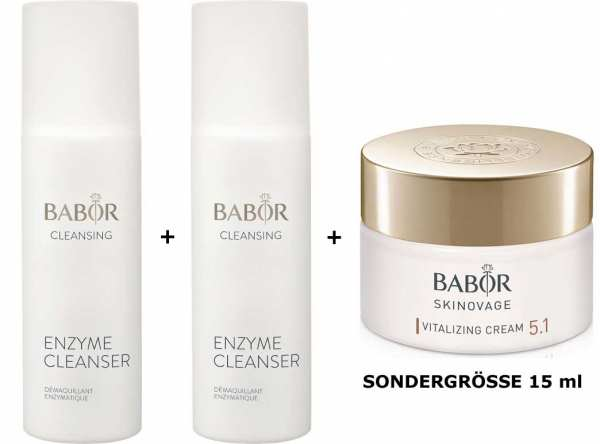 BABOR CLEANSING Enzyme Cleanser 2x - Peeling-Reinigungspulver auf Enzyme Basis