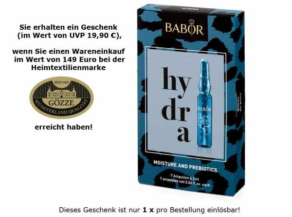 Ihr Geschenk - BABOR AMPOULE CONCENTRATES hydra 7x 2ml - Feuchtigkeits Ampullenkur