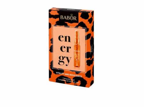 BABOR AMPOULE CONCENTRATES energy 7x 2ml - vitalisierende Ampullenkur