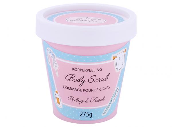 BadeFee Candy Line - Körperpeeling pudrig & frisch 275 g