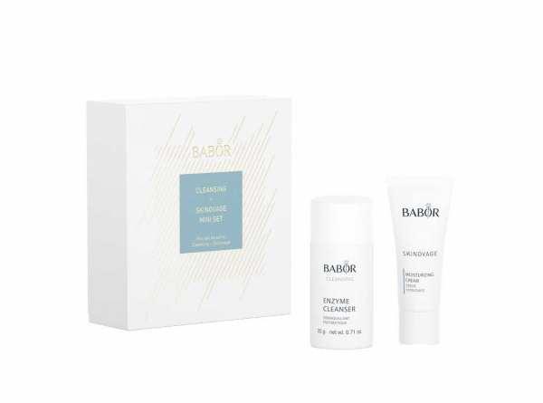 BABOR Skinovage Set Enzyme Cleanser 20g + Moisture Cream 20ml
