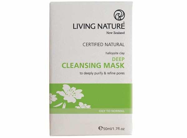 Living Nature Tief wirkende Reinigungsmaske