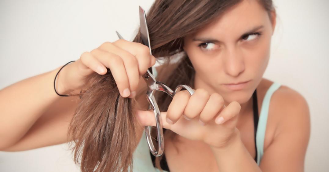 Haarschneideschere