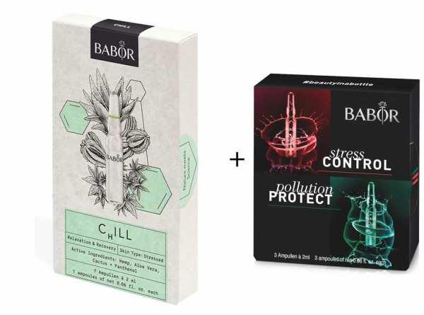 BABOR Ampullen CHILL - Regeneration der gestressten Haut