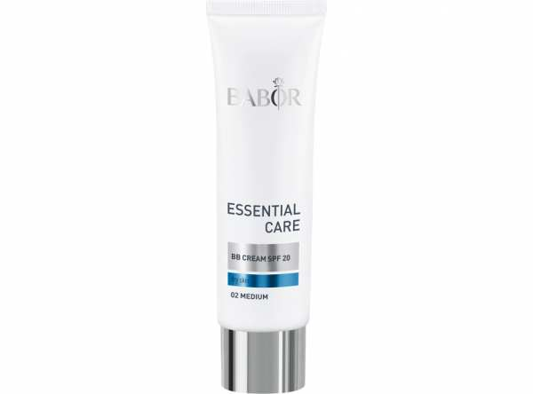 BABOR ESSENTIAL CARE BB Cream 02 medium - Zart getönte Gesichtscreme mit LSF 20
