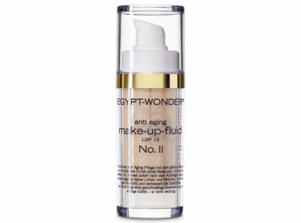 Tana® COSMETICS EGYPT-WONDER Anti-Aging Make-Fluid Up-LSF 15 Nr. 2 Mittel