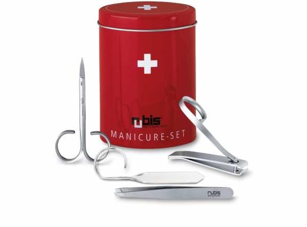 Manikür Set von RUBIS Schweizer Qualität