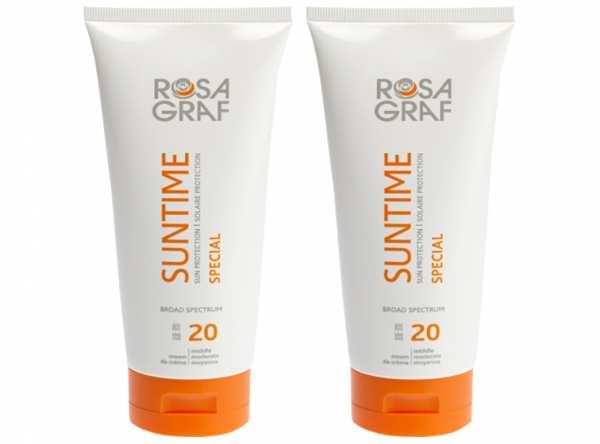Sonnenpflege SUNTIME SPF 20 von ROSA GRAF Sonderaktion