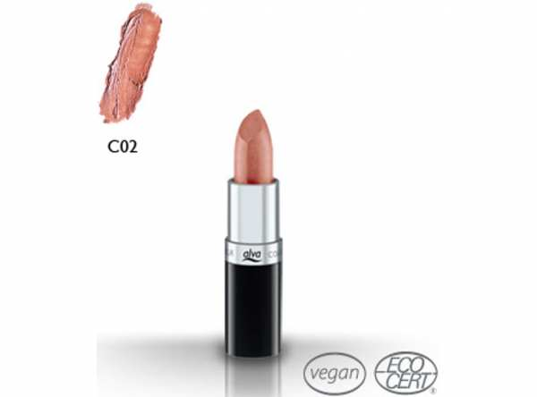 Lippenstift CREAMY LIPSTICK C2 burnt orange von alva