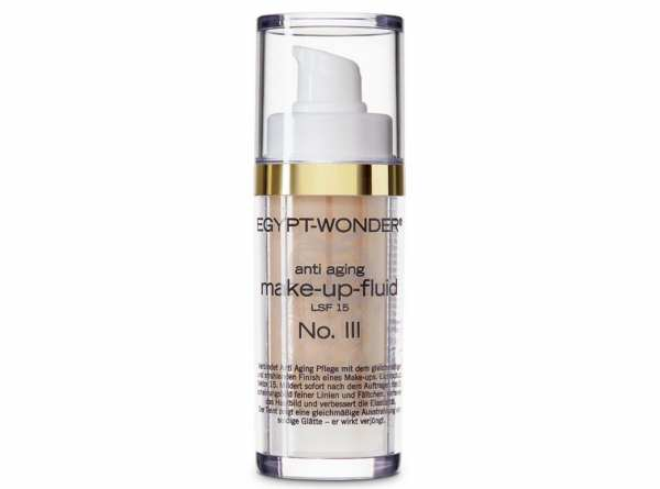Tana® COSMETICS EGYPT-WONDER Anti-Aging Make-Up-Fluid Up-LSF 15 Nr. 3 Dunkel