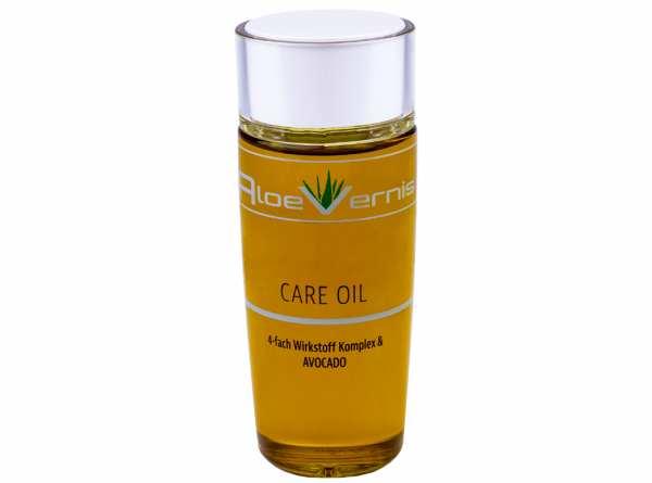 AloeVernis® BASIC CARE OIL 4-fach Wirkstoff Komplex & AVOCADO 120 ml + GRATIS 3er BABOR Ampullen Set