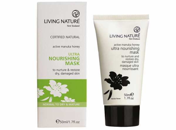 Living Nature Ultra Nährende Maske -  extra trockene Haut