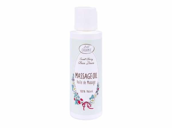 BadeFee ORGANIC Massageöl Süße Beere