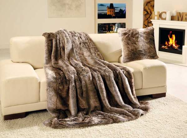 GÖZZE Luxus Fell - Imitat Decke Qualität A