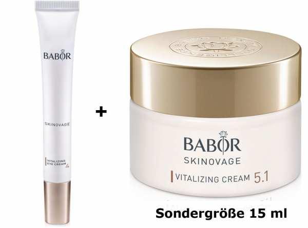 BABOR SKINOVAGE Vitalizing Eye Cream - Vitalisierende Augencreme