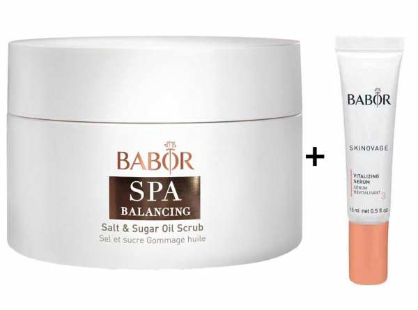 BABOR SPA BALANCING Salt & Sugar Oil Scrub - Salz-und Zuckerpeeling