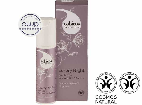 cobicos LUXURY NIGHT CREAM - für Regeneration & Aufbau für die Nacht