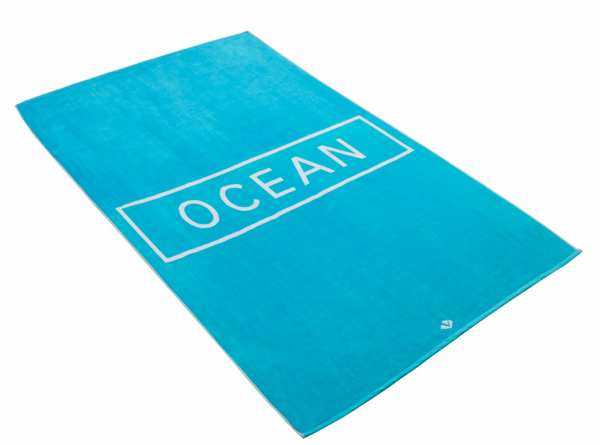 VOSSEN BEACH COLLECTION OCEAN Strandtuch 100 x 180 cm