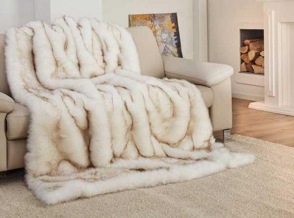 GÖZZE Luxus Fell - Imitat Decke Qualität B