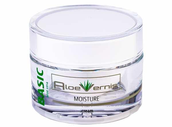 AloeVernis® BASIC aloe vera MOISTURE cream 50 ml + 2 BABOR GRATIS AMPULLEN