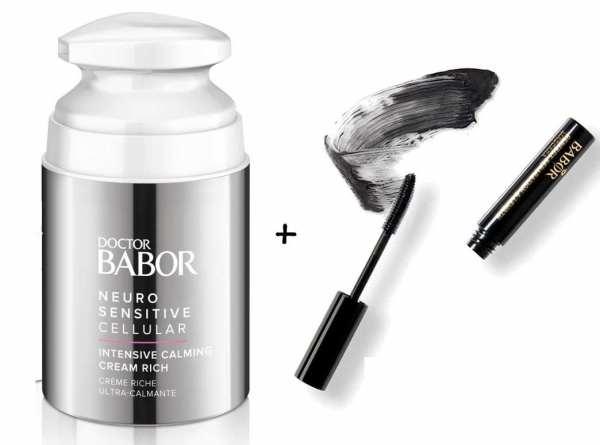 DOCTOR BABOR NEURO SENSITIVE CELLULAR Intensive Calming Cream Rich - für extrem trockene, schuppige