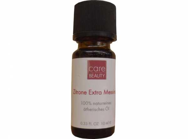 100 % Ätherisches Öl Zitrone Extra Messina von CareMore