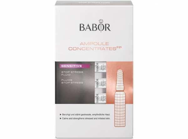 Wirkstoffkonzentrat AMPOULE CONCENTRATES FP SENSITIVE Stop Stress Fluid von BABOR