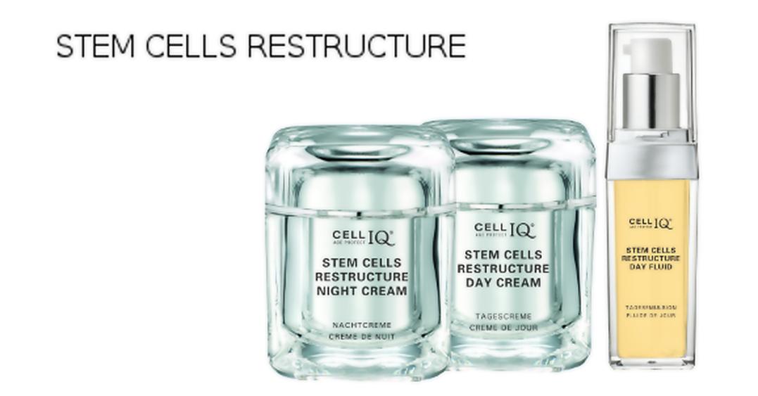 BINELLA of Switzerland CELL IQ® STEM CELLS RESTRUCTURE